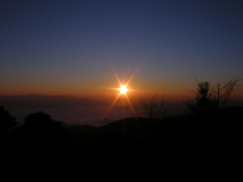 ลองถ่ายพระอาทิตย์ให้เป็นแฉก