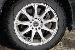 Volvo Snow Tire with Pulse Rim