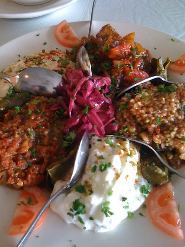 Meze Platter from Anatolia Cafe