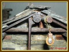 CASETTA DI PIETRA ( Particolare) (Pier * ON/OFF....VERY BUSY) Tags: italy piemonte modellismo vallidilanzo chiaves baite artgianali casettedipietra