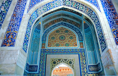 THIS IS BEAUTY (kalim123) Tags: travel shrine samarkand bukhara tashkent