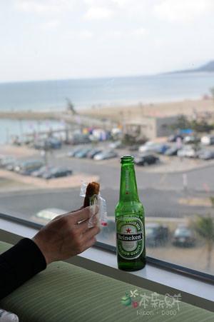 雙糕潤、啤酒和海洋