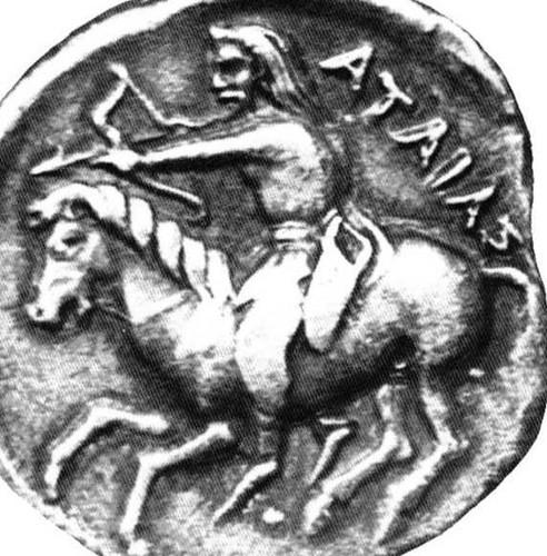 scythian coin king atheides
