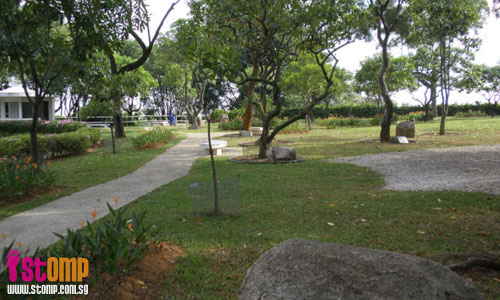 Ulu park has trees planted by royalty and famous people