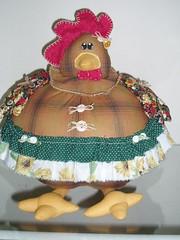 Galinha gordinha (Sonhos de Tecido) Tags: galinha artesanato patchwork tecido