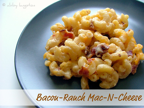 Bacon-Ranch Mac-N-Cheese