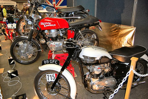 TRIO OF BRITISH CLASSIC MOTORBIKES. by ronsaunders47