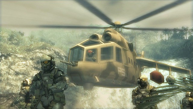 Metal Gear Solid: Peace Walker HD - Get to the chopper!