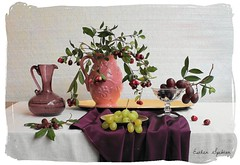 The Promise of Spring (Esther Spektor - Thanks for 5 millions views..) Tags: pink red stilllife food white color reflection green art texture water glass leaves yellow metal composition scarf canon silver spring stem ceramics branch pattern afternoon berries purple linen availablelight burgundy cluster gray plate stilleben fantasy mauve tray imagination esther drape bouquet brass pitcher promise grape everydaylife tabletop bodegon naturemorte goblet artisticphotography naturamorta spektor naturezamorta coth creativephotography artdigital artofimages exoticimage estherspektor vision:text=0619 vision:outdoor=0669 vision:plant=0607