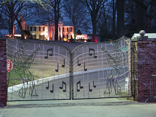 Graceland at Night