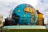 Eco Earth Globe at Riverfront Park in Salem Oregon