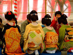 Baikasai () (ericlty) Tags: japan kyoto maiko geiko  teaceremony  ocha baikasai kitanotenmangushrine  kamishichiken   plumblossomfestival  umeshizu umechika  satoyuki  katsuho