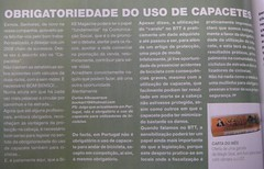 Posição da revista BIKEmagazine quanto à obrigatoriedade do uso de capacete por ciclistas