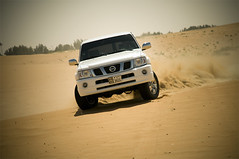 (Faris .M) Tags: by fun nikon nissan desert ad some taken sands 4800 having d300 vtc fares 3623 18135mm