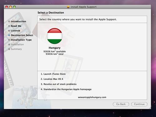 Apple Support installer