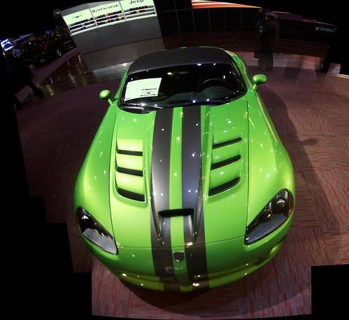 A 2008 Dodge Viper.,car, sport car