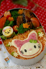 Hello Kitty bento (luckysundae) Tags: hellokitty kawaii bento obento charaben