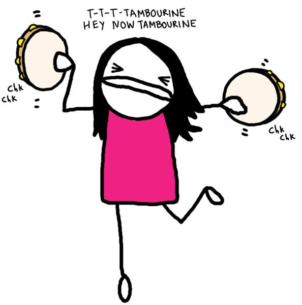tambourine-solo
