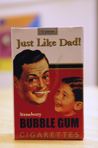 Just like Dad! cigarettes