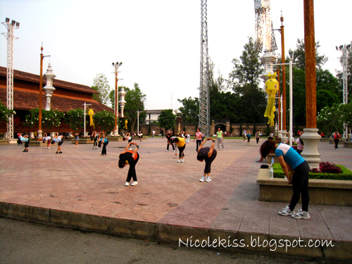 mass work out in chiang rai