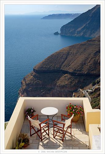 terrace view sea by rorisaprita.