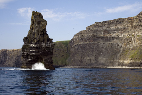 Paisaje del mundo, Irlanda, acantilados de moher