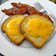 Eggs, Toast, and Bacon