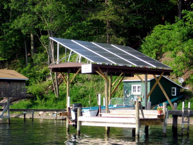 Serious solar array