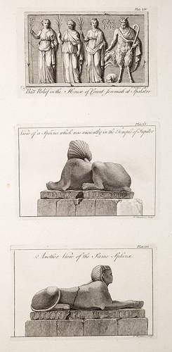 11-Vista de la esfinge que estaba antiguamente en el Templo de Júpiter