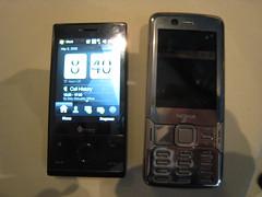 HTC Touch Diamond vs Nokia N82 again