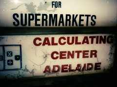 not sure if i would trust it ... (badjonni) Tags: urban sign decay centre add calculator plus mathematics language equals minus divide multiply calculating subtract