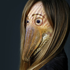 Octogirl (Sebastian Niedlich (Grabthar)) Tags: fish animal monster photoshop manipulated photoshopped manipulation human squid freak octopus mutant cuttlefish manip hybrid photoshopping mutation mutated grabthar sebastianniedlich freakingnews
