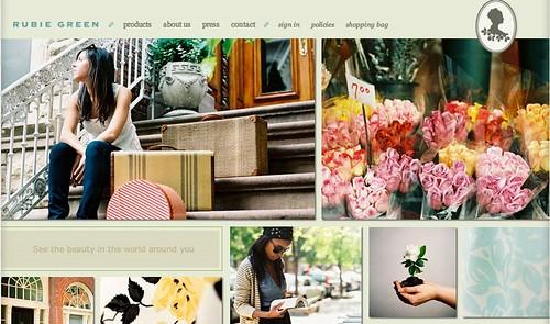 rubie green website