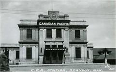 Brandon Train 1912