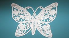 dantel anglez kelebek from Piecework Mag