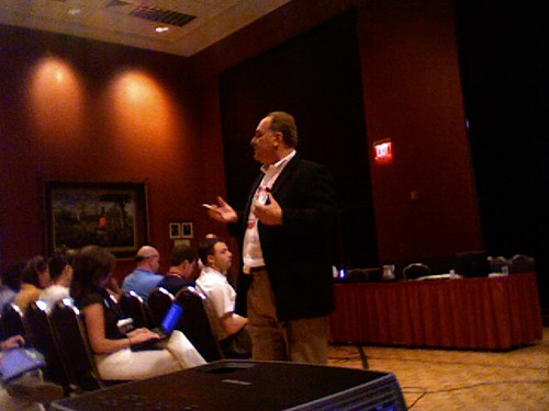 David Jakes presenting