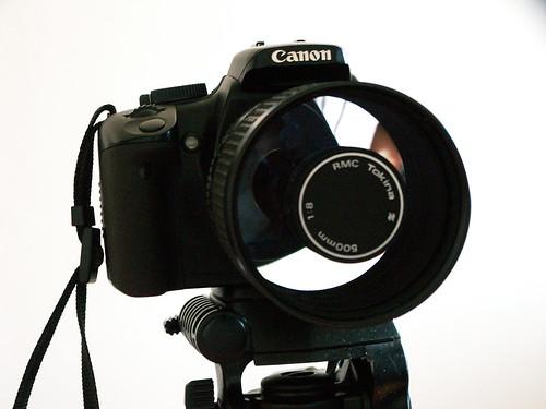 Objectif Tokina Catadioptrique 500mm