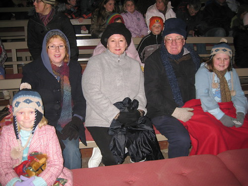 All rugged up for Blood on the Southern Cross