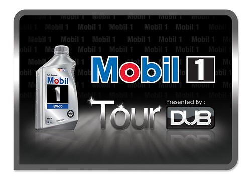 Mobil 1 and DUB Tour Logo [Theory Communication amp; Design]