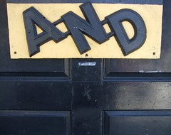 A=N=D (rick) Tags: sanfrancisco door sign 2008 foundinsf gwsf f45fd gwsf5party gwsflexicon