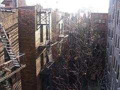 hidden Manhattan (Ed Brodzinsky) Tags: newyorkcity architecture manhattan escaleras brickwork fireescapes