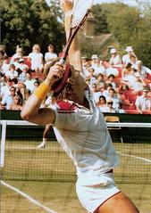 Tennis golden oldie - Pat Cash (Carine06) Tags: tennis wimbledon beckenham grasscourt patcash