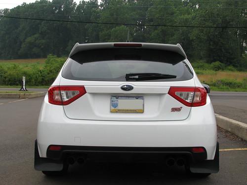 Subaru. Taillights