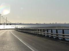 Oresund bridge (dtsomp) Tags: bridge denmark sweden oresund