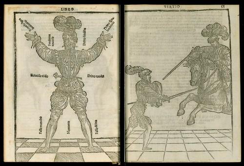 L'arte de l'Armi by Achille Marozzo, 1536 h