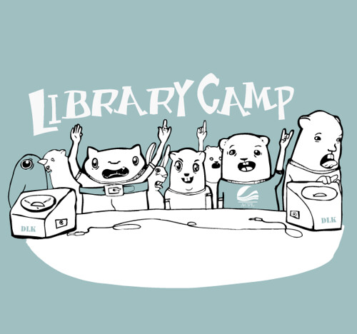 ACPL Library Camp 2008 logo