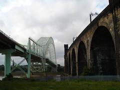 runcorn  bridge (soopercool1) Tags: bridge mersey runcorn widnes