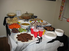 Dessert Party 08 Spread