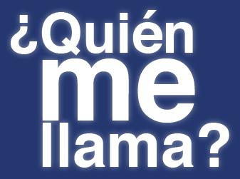 Logotipo de ¿Quién me llama?