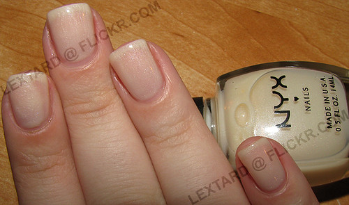 NYX - Sheer Cream Frost by lextard.